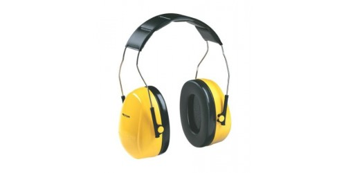 over-the-head earmuffs Peltor