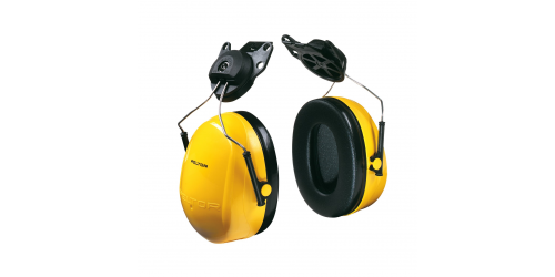 Coquille de protection auditive Peltor Optime98, modèle à fixation pour casque, 23db