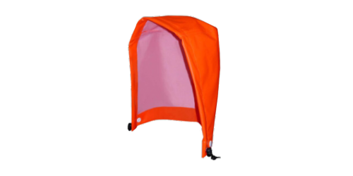 Capuchon imperméable , Viking, orange