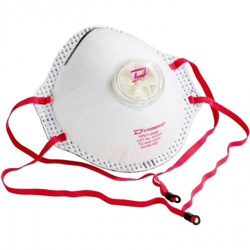 Masque jetable avec valve - RPD714N95 -  Dynamic Safety -10/BOITE