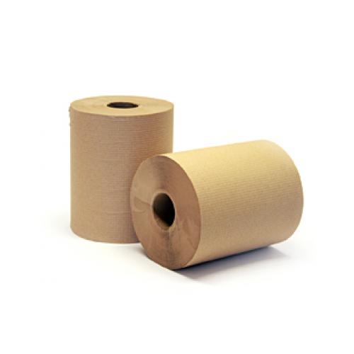 Papier à mains brun