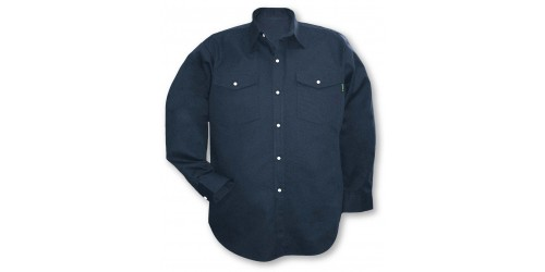 Long sleeve shirt 65/35 snaps