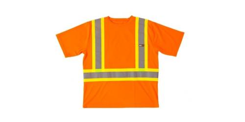 T-shirt haute visibilité à manches courtes