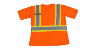 T-shirt de sécurité respirante, TITAN Workwear, orange