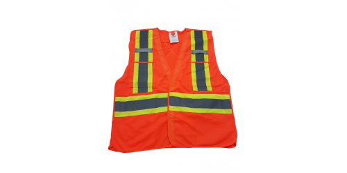 Veste de sécurité respirante, TITAN Workwear, orange